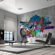 Fototapeta  Graffiti eye
