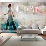 Fototapeta  Create yourself