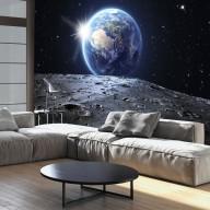 Fototapeta  Widok na Niebieską Planetę