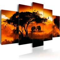 Obraz  Afrykańska miłość