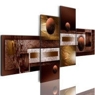 Obraz  Kule i tekstury