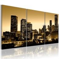 Obraz  Blask w oknach miasta