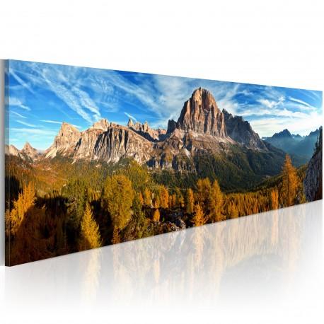 Obraz  góra, krajobraz  panorama