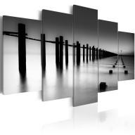 Obraz - Melancholijny widok na morze