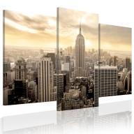 Obraz  Nowy Jork u schyłku dnia