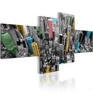 Obraz  Nowy Jork w zaskakującej aranżacji