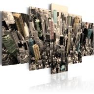 Obraz  Nowy Jork  widok na drapacze chmur