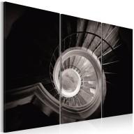 Obraz  Krętymi schodami w dół