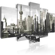 Obraz  Szanghaj  największe miasto Chin