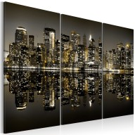 Obraz  Złoto Nowego Jorku
