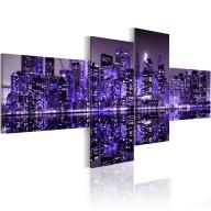 Obraz  Purple York