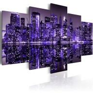 Obraz  Deep deep purple  NYC