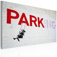 Obraz  Parking (Banksy)