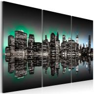 Obraz  Inspirujące światła Nowego Jorku