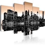 Obraz  Tonący Nowy Jork  5 części