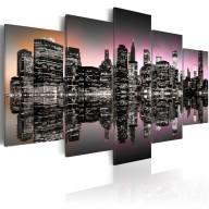 Obraz  Miasto, które nigdy nie zasypia  NYC  5 części