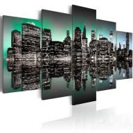 Obraz  Inspirujące światła Nowego Jorku  5 części