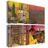 Obraz  Może Paryż, może Nowy York...