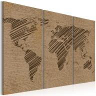 Obraz  Zapiski ze świata  tryptyk