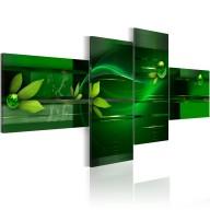 Obraz  Green race