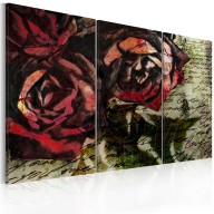 Obraz  Love letter  triptych