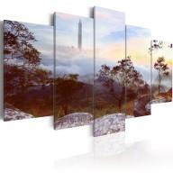 Obraz  Wieża i horyzont