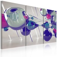 Obraz  Glass bubbles  triptych