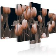 Obraz  Tulipany w sepii