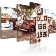 Obraz  California  vintage style