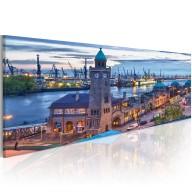 Obraz  Hamburg  port