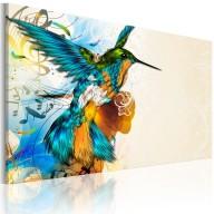 Obraz  Birds music
