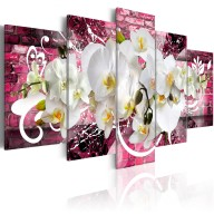 Obraz  Wariacja na temat orchidei