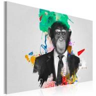 Obraz  Pan Małpa