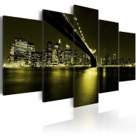 Obraz  Niezapomniana noc w Nowym Jorku