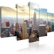 Obraz  Poranek w Nowym Jorku