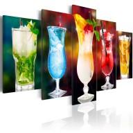 Obraz  Drink z parasolką