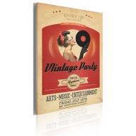 Obraz  Vintage party