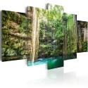 Obraz - Wodospad drzew
