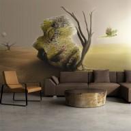 Fototapeta  pustynia  motyw abstrakcyjny