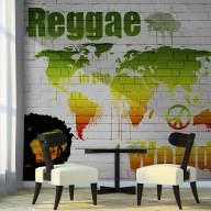 Fototapeta  Reggae in the world