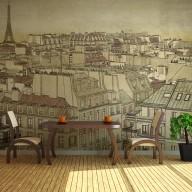 Fototapeta  Żegnaj Paryżu
