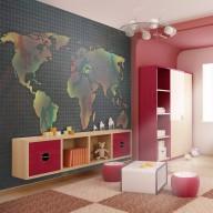 Fototapeta  mapa (dla dzieci)