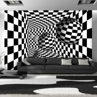 Fototapeta  Czarnobiały korytarz
