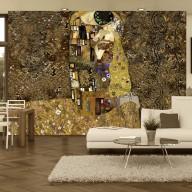 Fototapeta  Klimt inspiracja  Złoty pocałunek