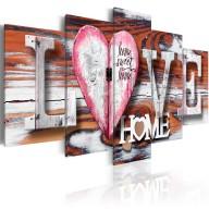 Obraz  Love Home