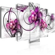 Obraz  Orchidee i perły