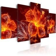 Obraz  Ogniste kwiaty