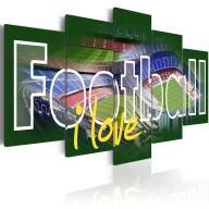 Obraz  I Love Football