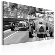 Obraz  Stare samochody wyścigowe