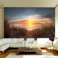 Fototapeta  Zachód słońca nad Oceanem Atlantyckim